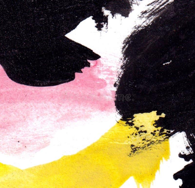 La acuarela del fondo borra, borra para su creatividad Textura del papel de embalaje libre illustration