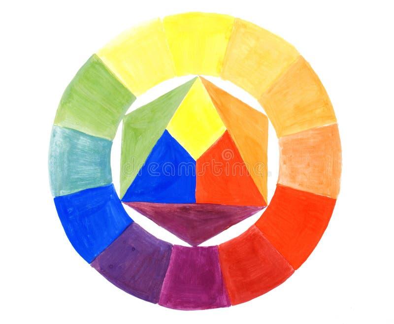 La acuarela pinta coloristics fotos de archivo
