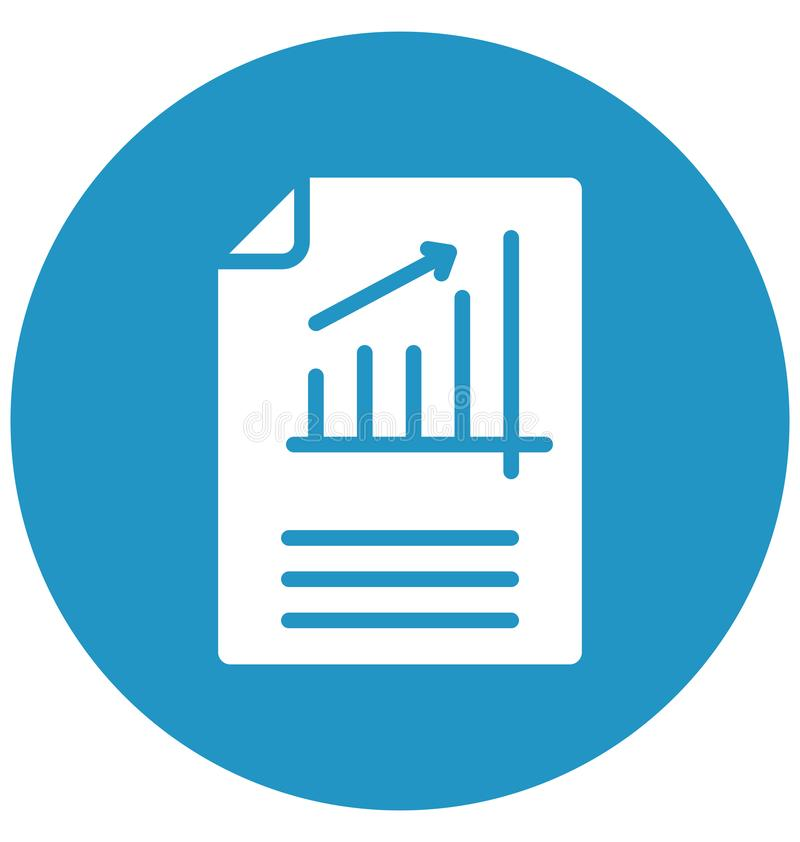 La administración de empresas aisló el icono del vector que puede modificarse o corregir fácilmente libre illustration