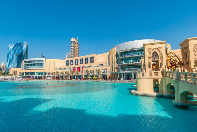 La alameda de Dubai fotos de archivo