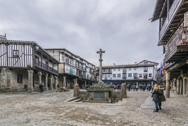 La Alberca, Salamanca, España foto de archivo libre de regalías