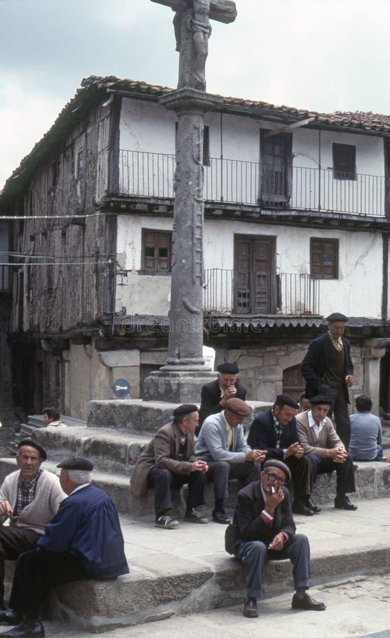 LA ALBERCA, SALAMANCA, ESPAÑA - JUNIO 1978 foto de archivo