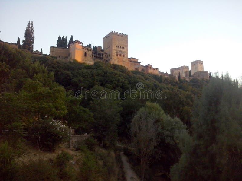 la alhambra стоковая фотография rf