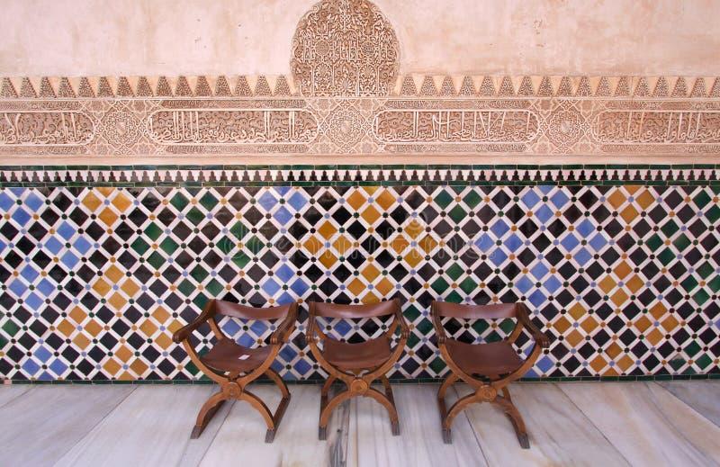 La Alhambra, Granada, Spanien stockfotografie