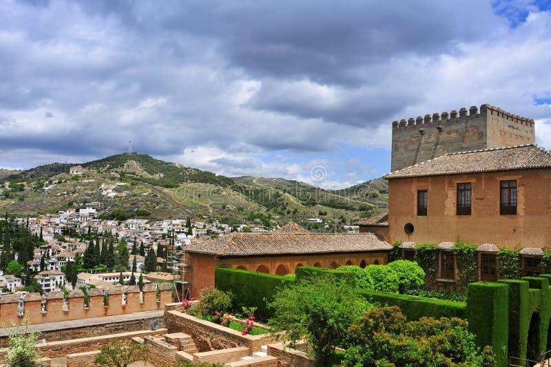 Download La Alhambra In Granada, Spanje Stock Foto - Afbeelding bestaande uit erfenis, plaats: 29514824