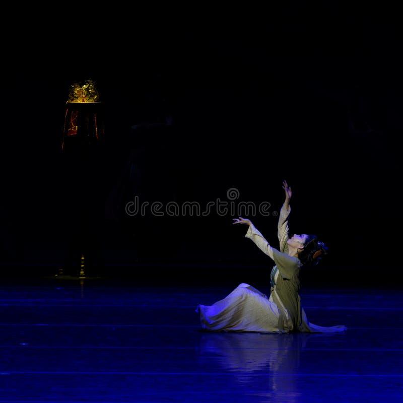 La amargura del sueño del ` del š del ¼ del actï de la madre- tres de Qin de destrozar el ` de seda - ` de seda de la princesa de imagen de archivo libre de regalías