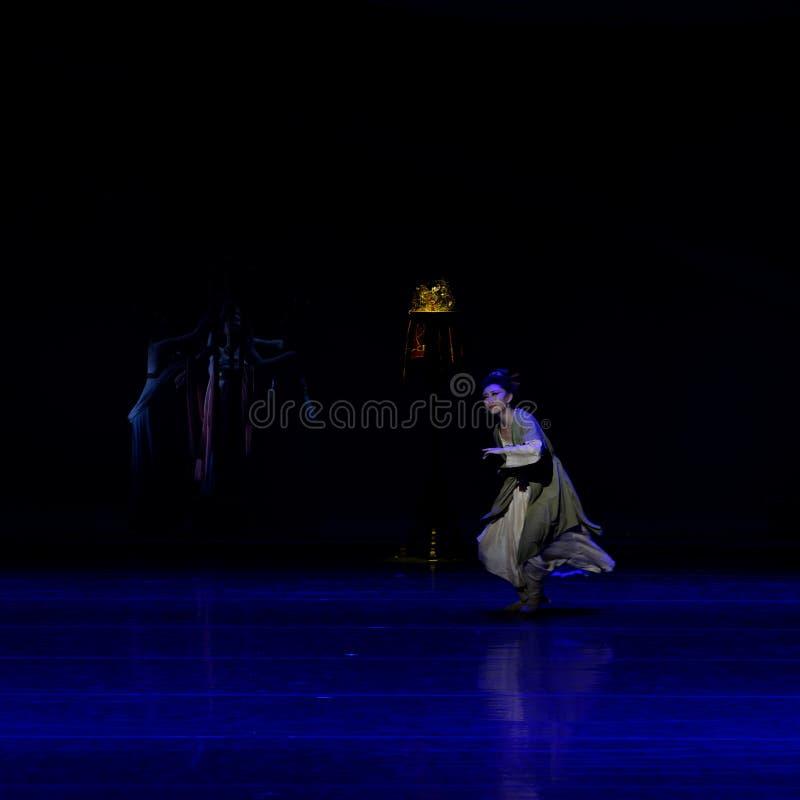 La amargura del sueño del ` del š del ¼ del actï de la madre- tres de Qin de destrozar el ` de seda - ` de seda de la princesa de imagenes de archivo