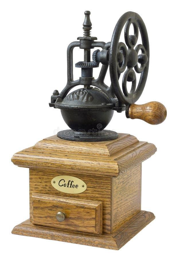 La amoladora de café mecánica fotos de archivo libres de regalías