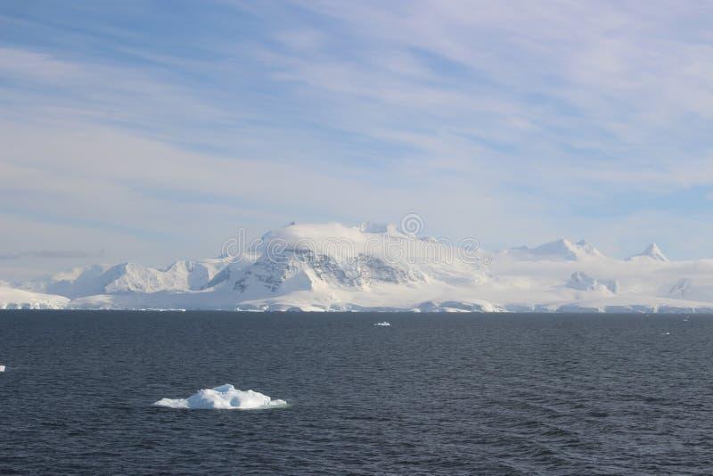 La Antártida - paisaje imagenes de archivo