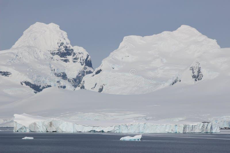 La Antártida - paisaje imagen de archivo