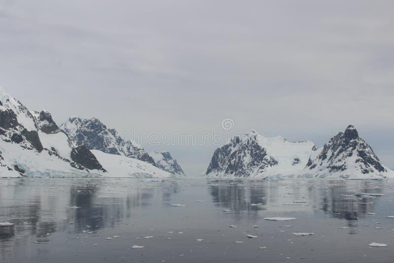 La Antártida - paisaje foto de archivo