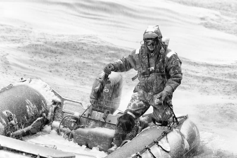 La Antártida, South Pole fotografía de archivo