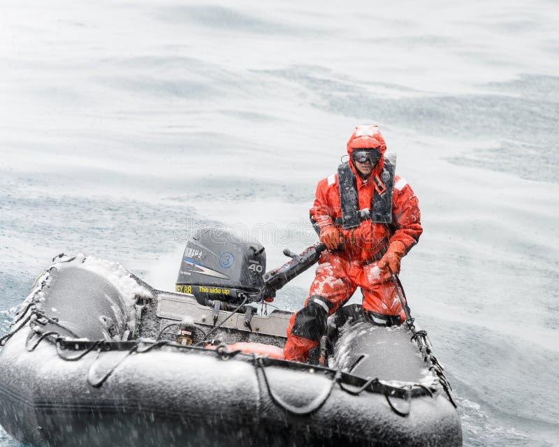 La Antártida, South Pole foto de archivo libre de regalías