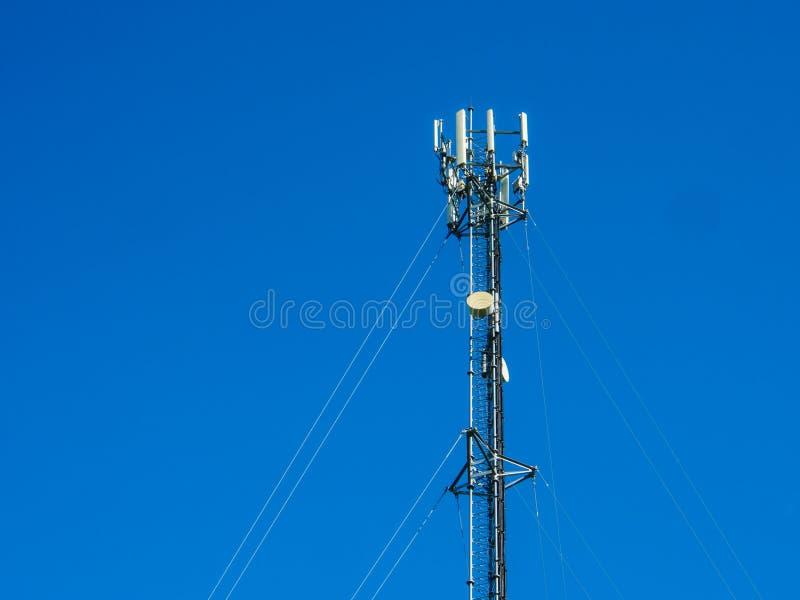 La antena para el uso comunica imagen de archivo libre de regalías