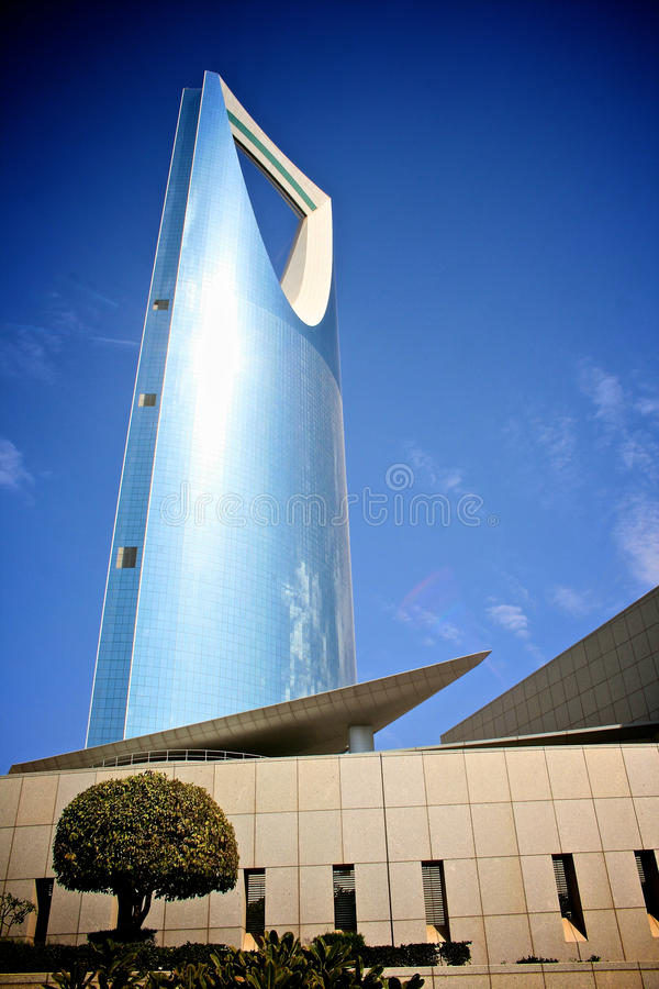 La Arabia Saudita - torre del reino fotografía de archivo