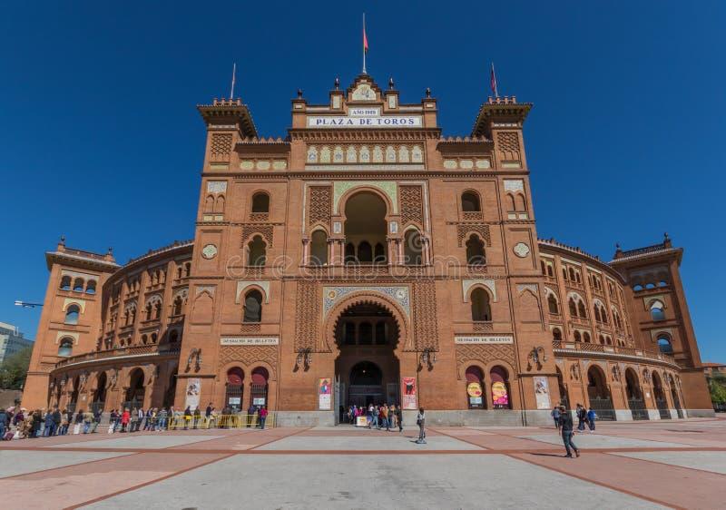 La arena maravillosa de Las Ventas de Madrid, España fotografía de archivo libre de regalías
