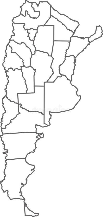 La Argentina ilustración del vector