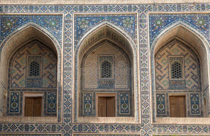 La arquitectura de Samarkand antigua imagen de archivo libre de regalías