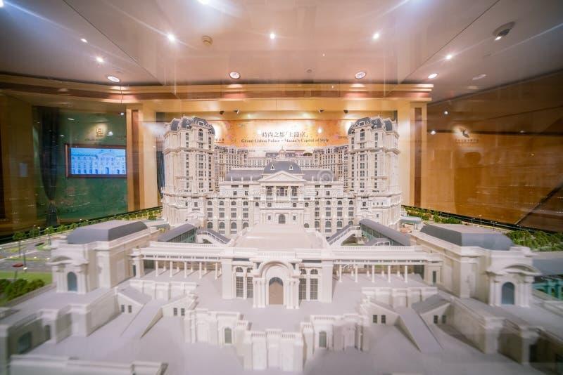 La arquitectura modal del palacio magnífico de Lisboa imágenes de archivo libres de regalías