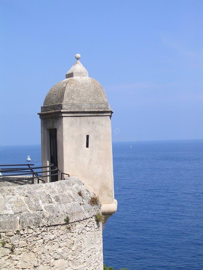 Download La atalaya. imagen de archivo. Imagen de mónaco, mediterráneo - 191481