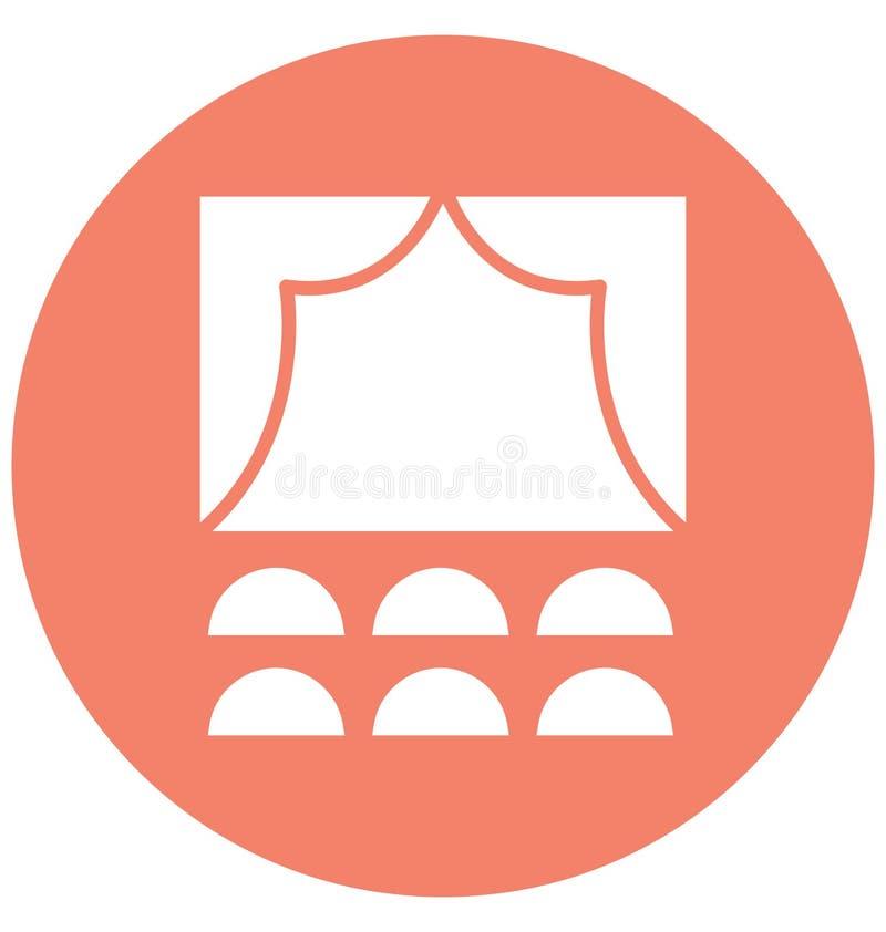 La audiencia aisl? el icono del vector que puede modificar o corregir f?cilmente el icono aislado audiencia del vector que puede  libre illustration