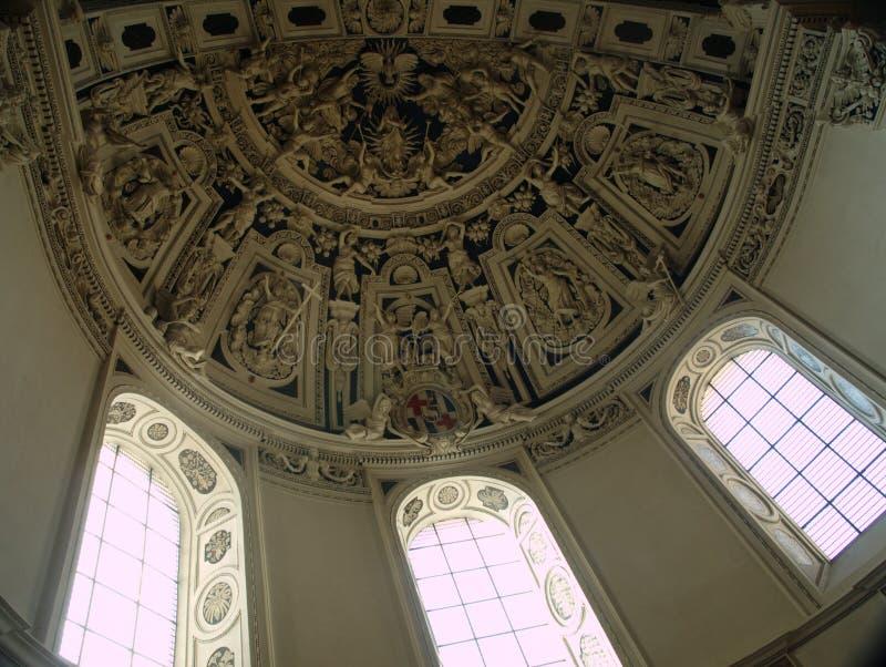 La azotea en la catedral de San Pedro fotos de archivo libres de regalías