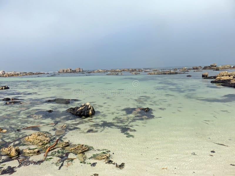 La bahía pacífica imagen de archivo libre de regalías