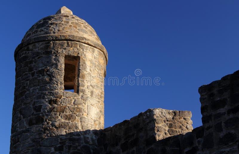 La Bahia Watchtower de Presidio images stock