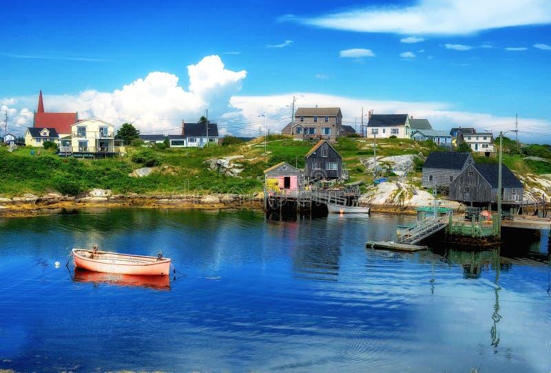 La baia Nova Scotia di Peggy immagine stock