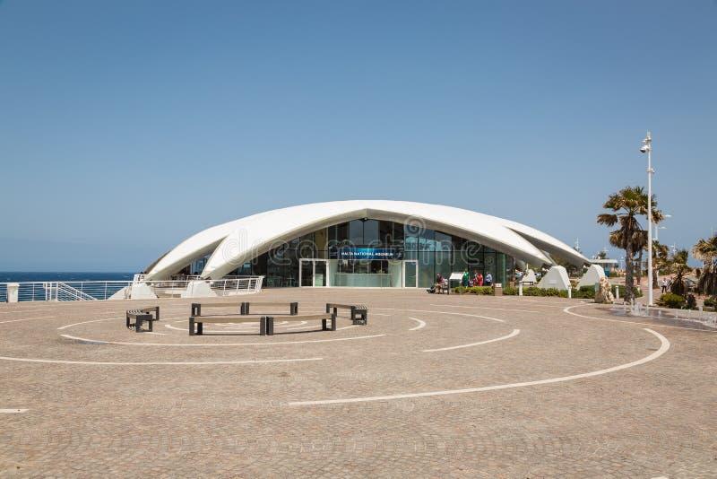 La baie de St Paul, Malte - 8 mai 2016 : Aquarium de Malte Nationale photo libre de droits