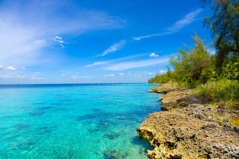 La baie des porcs, playa Giron, Cuba photographie stock libre de droits
