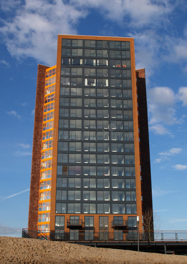 La balise. A new bilding in amersfoort, the netherlands royalty free stock photography