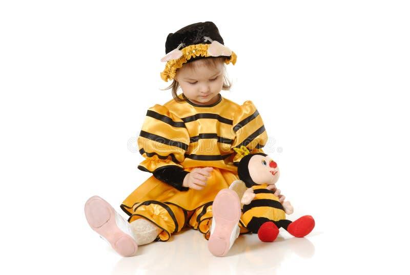 Download La bambina immagine stock. Immagine di elementare, celebrazione - 3877405