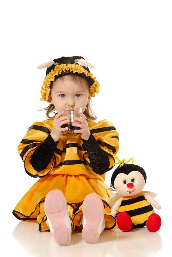 Download La bambina immagine stock. Immagine di espressione, festive - 3879535