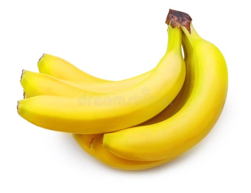 La banane mûre a isolé image stock