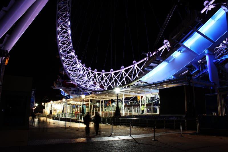 La Banca del sud dell'occhio di Londra fotografia stock
