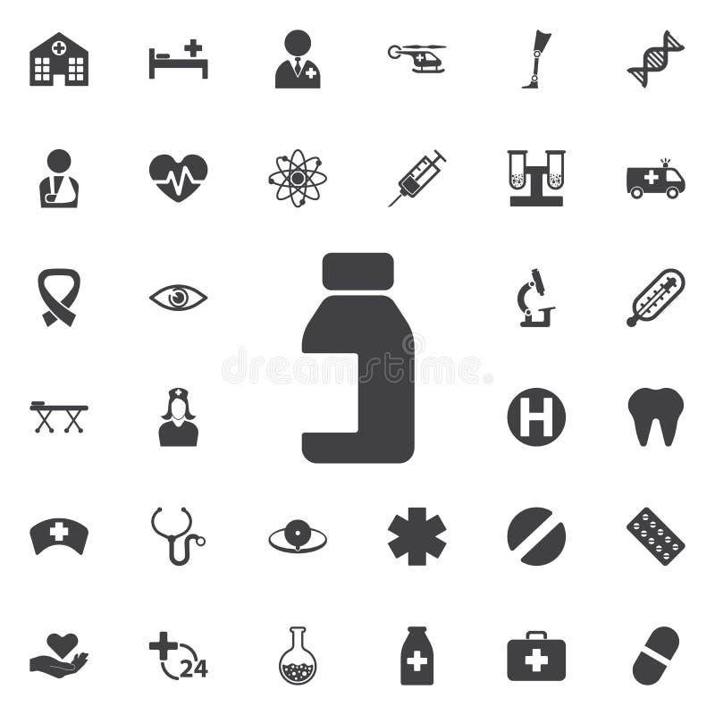 La Banca dell'icona delle pillole royalty illustrazione gratis