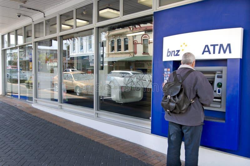 La Banca della Nuova Zelanda (BNZ) fotografia stock
