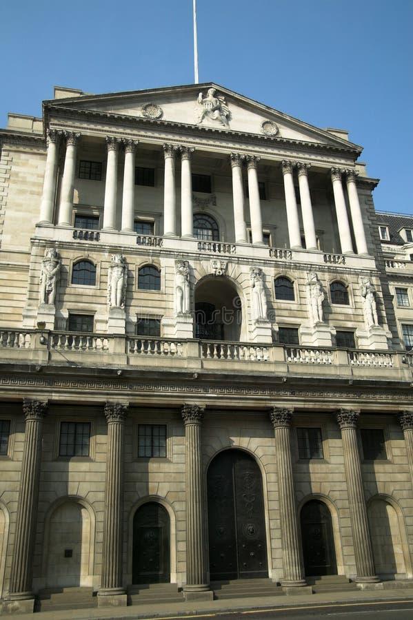 La Banca di Inghilterra fotografie stock libere da diritti