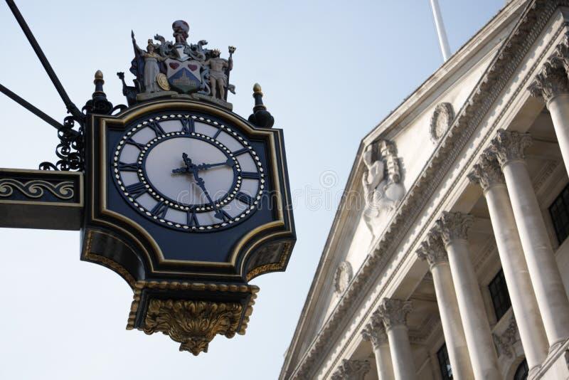 La Banca di Inghilterra a Londra fotografia stock libera da diritti