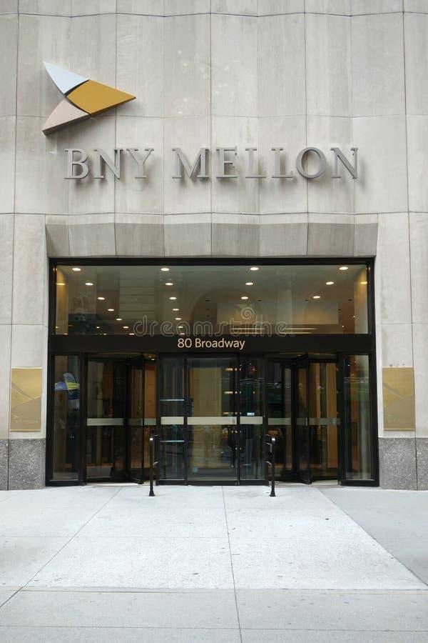 La Banca di New York Mellon immagini stock libere da diritti