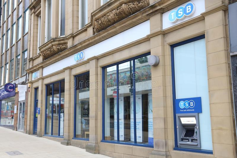 La Banca di TSB, Regno Unito immagine stock libera da diritti