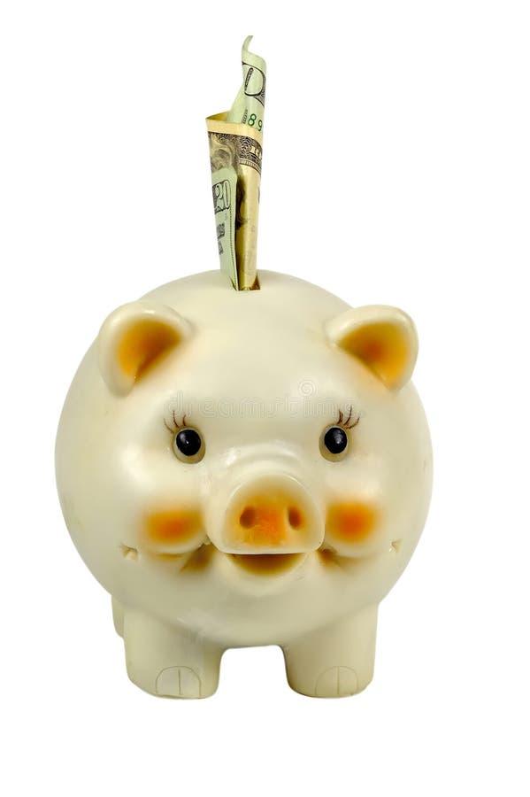 Download La Banca Piggy fotografia stock. Immagine di isolato, ipoteca - 220480
