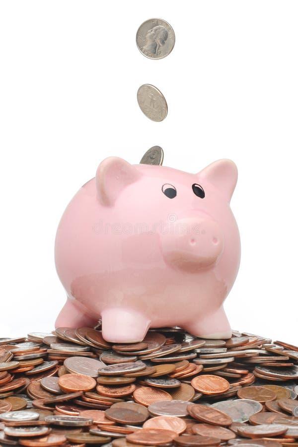 La Banca Piggy fotografia stock