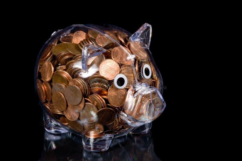 La Banca Piggy libera in pieno dei penny americani