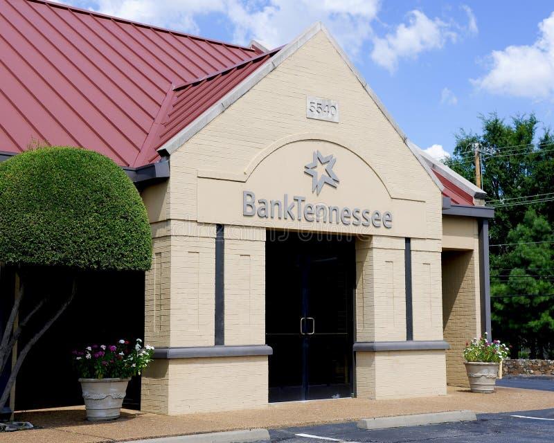 La Banca Tennessee Business Front fotografia stock