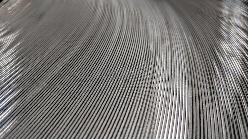 La bande industrielle en métal a roulé illustration libre de droits