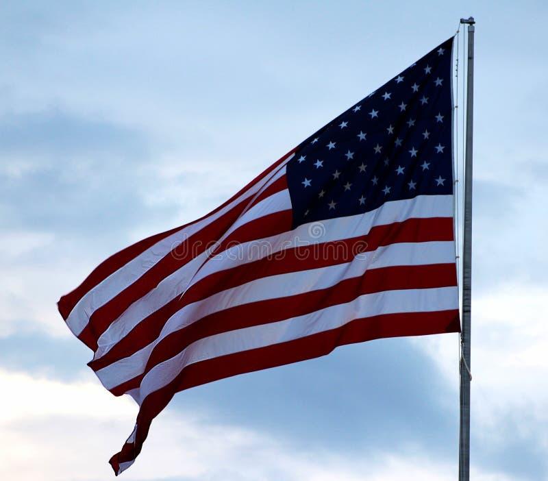 La bandera americana imágenes de archivo libres de regalías