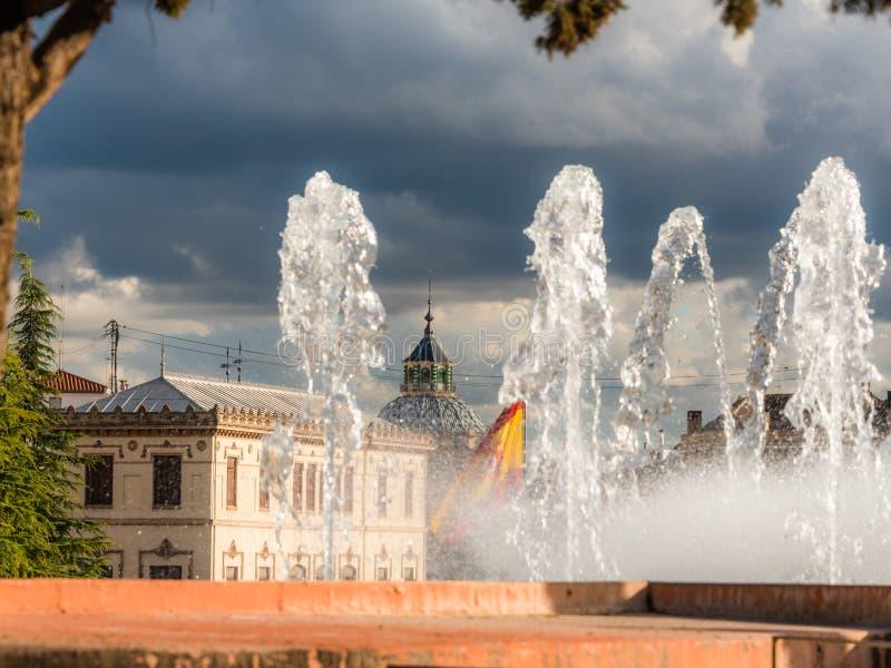 La bandera de España 1 fotografía de archivo libre de regalías