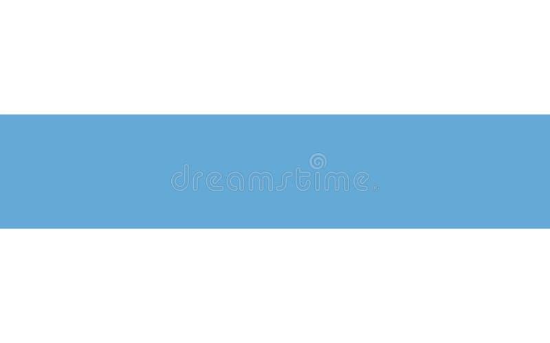 La bandera de Tucumán es una provincia en la Argentina libre illustration